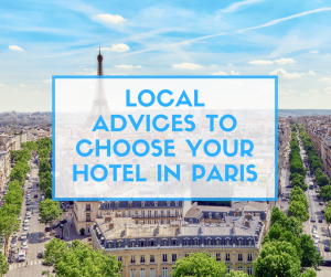 Choose your hotel in Paris