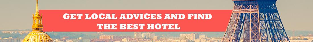 FIND THE BEST HOTEL IN PARIS